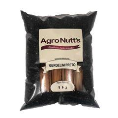 GERGELIM PRETO AGRONUTS 1KG