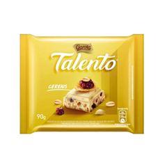 BARRA DE CHOCOLATE TALENTO BRANCO COMCEREAIS 90G
