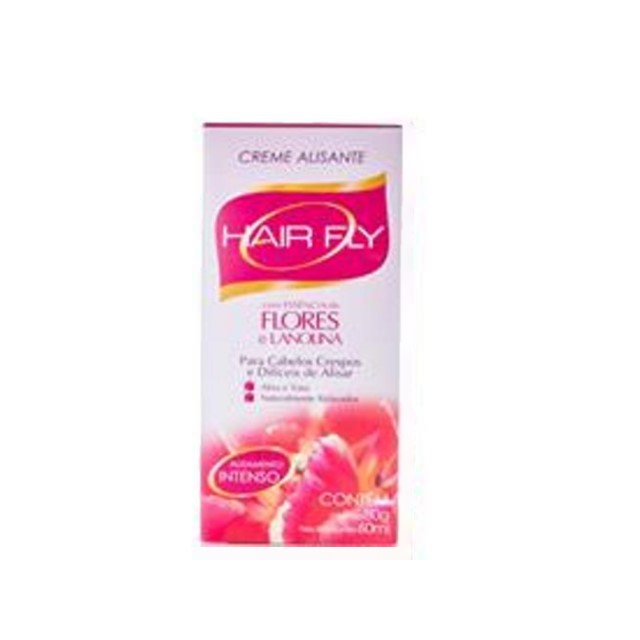 CREME ALISANTE HAIR FLY FLORES INTENSO 80G