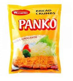 FARINHA PANKO WT PACOTE 200G