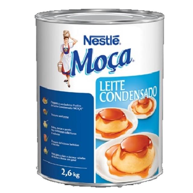 LEITE CONDENSADO MOÇA LATA 2,6KG