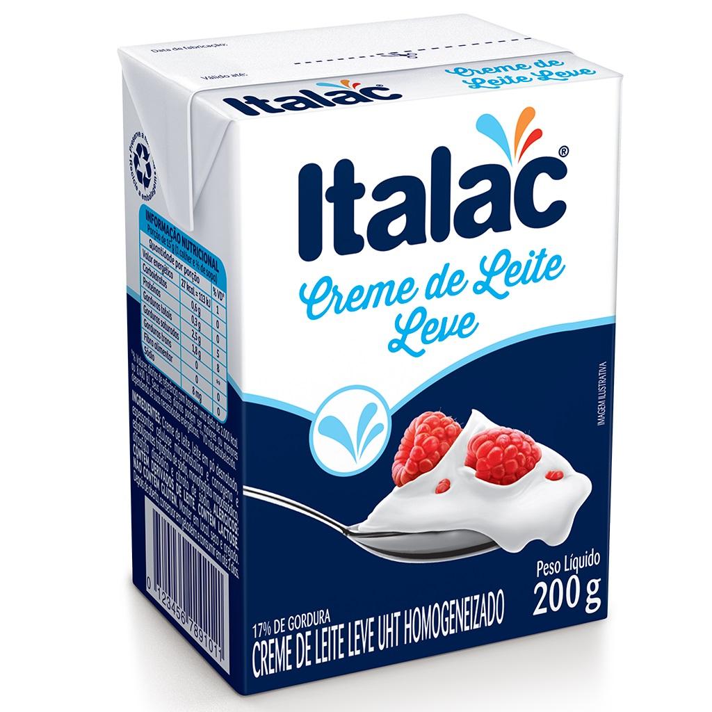 CREME DE LEITE ITALAC TETRA PACK 200G