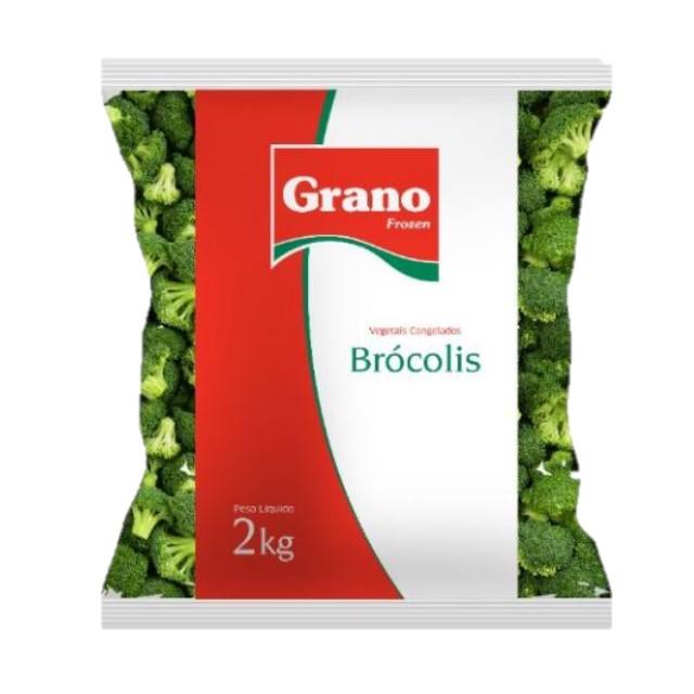 BROCOLIS CONGELADO GRANO 2KG