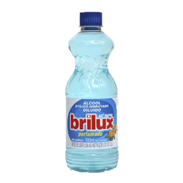 ALCOOL BRILUX PERFUMADO 500ML