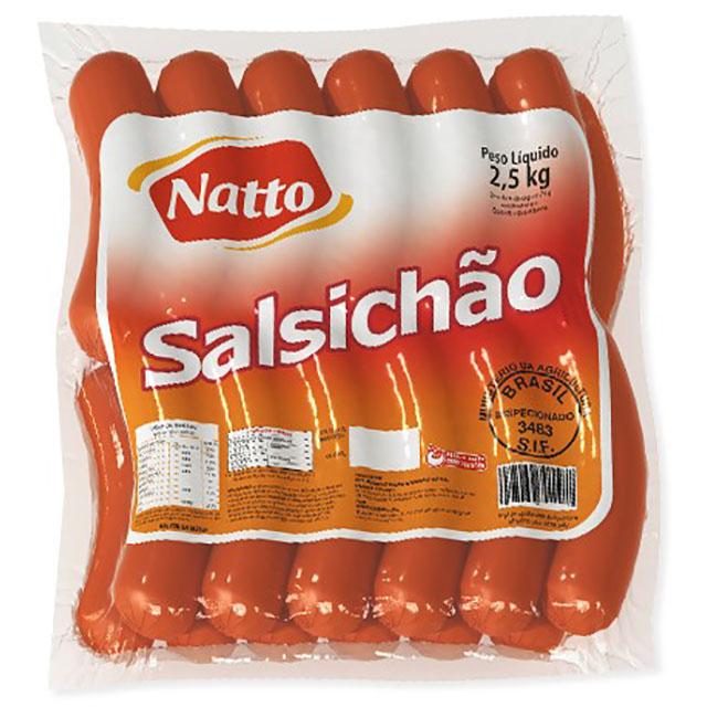 SALSICHAO NATTO 2,5KG