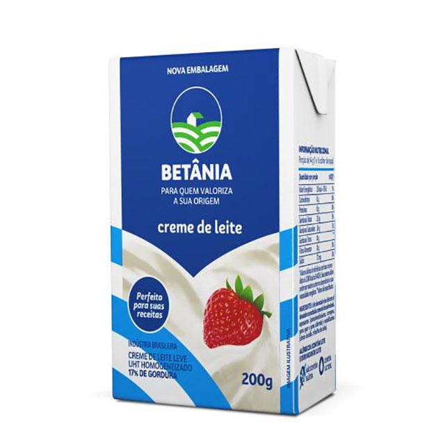 CREME DE LEITE BETÂNIA 200G
